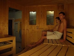 Finnische Sauna in der Galileo City Gaysauna